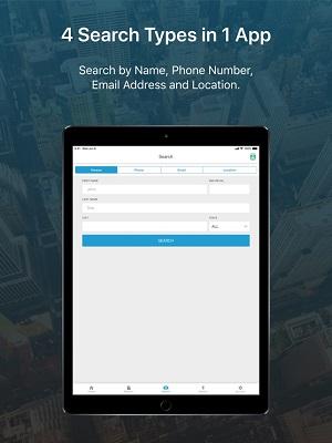 aplicación para iPhone de Truefinder