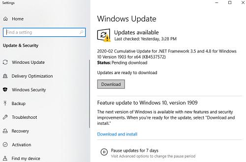 windows    yeniləmə