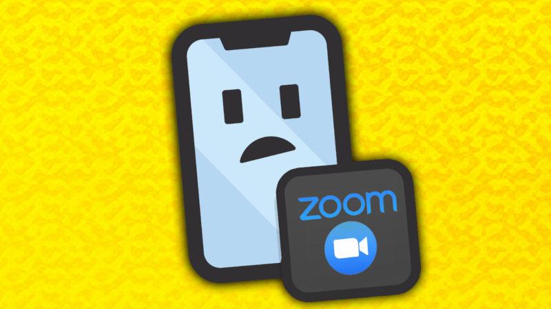¿La aplicación Zoom no funciona en iPhone? Aqui esta The Corrección (para iPads también)!