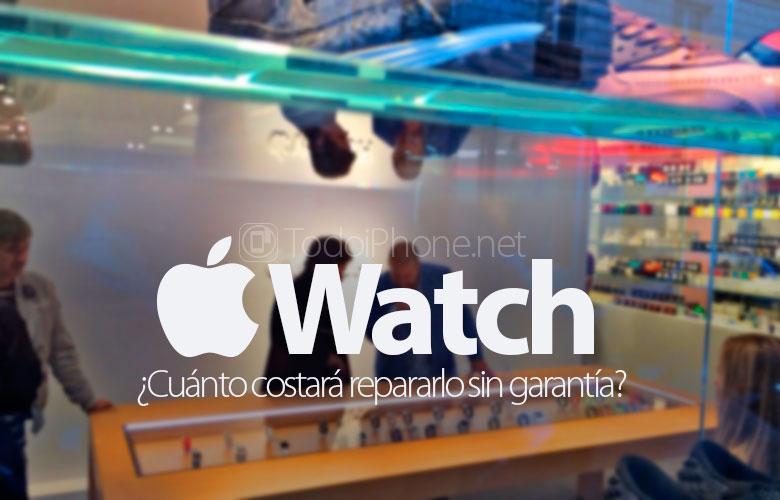 Berapa biaya perbaikan a Apple Watch tidak ada jaminan? 1
