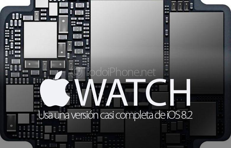 Dia Apple Watch pasang versi iOS 8.2 yang hampir lengkap 1