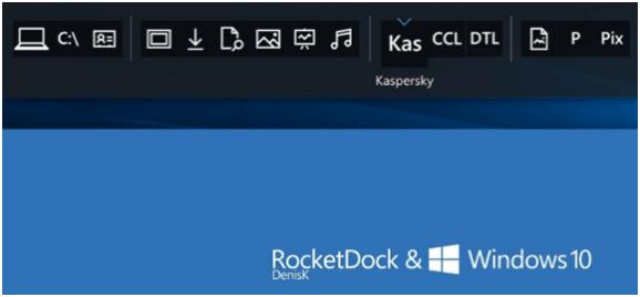 RocketDock - Bästa appstartare för Windows