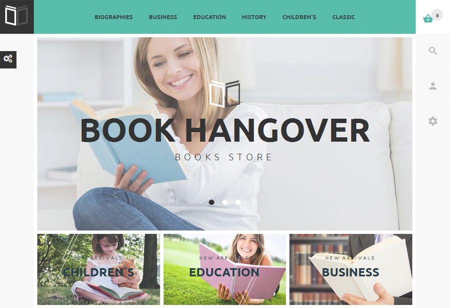 Gratis Hangover Book PrestaShop-tema