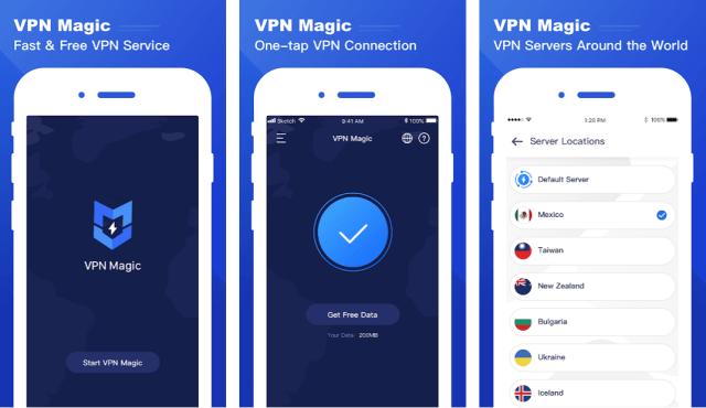 vpn-magic-android-app-ominaisuuksia