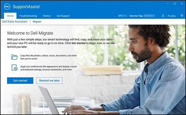 Faylları bir PC-dən digərinə köçürmək üçün Dell Migrate-dan necə istifadə olunur 1