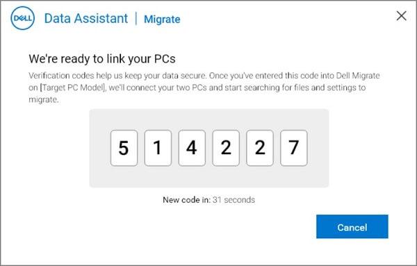 Faylları bir PC-dən digərinə köçürmək üçün Dell Migrate-dan necə istifadə olunur 3