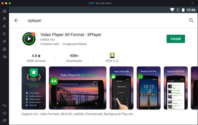 xPlayer-on-pc kullanan-nox-android-emülatörü