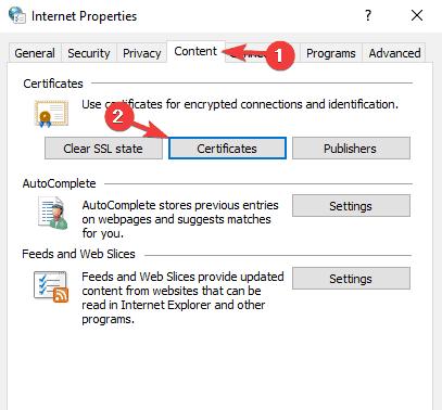 Windows    Kriptoqrafik xidmət təminatçısı səhv kodu bildirdi 0