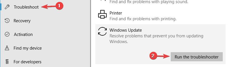 0x80244019 Windows Server 2016