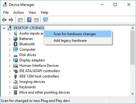 Opravte chýbajúcu ikonu batérie Windows 10
