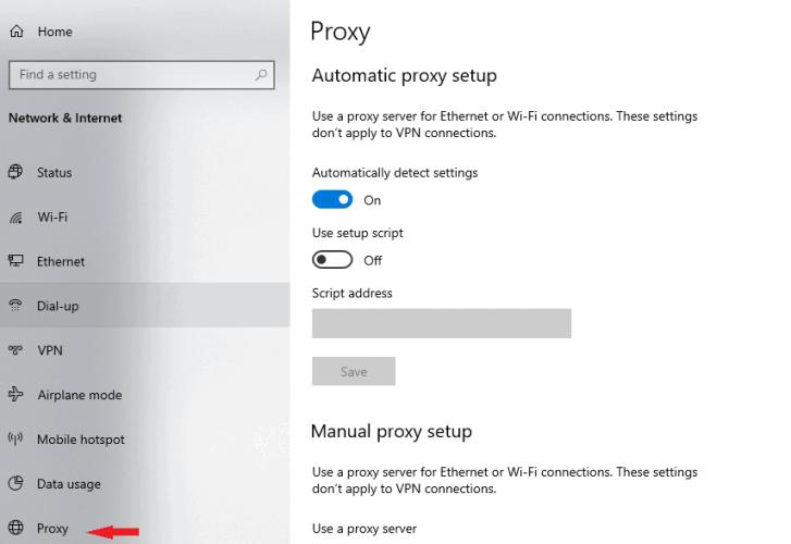 Falha na reinicialização do DSIM windows 10