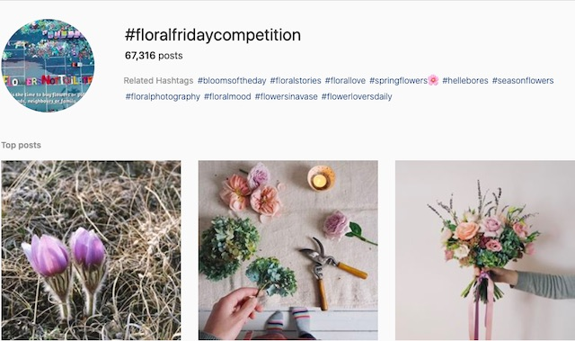#floralfridaycompetition