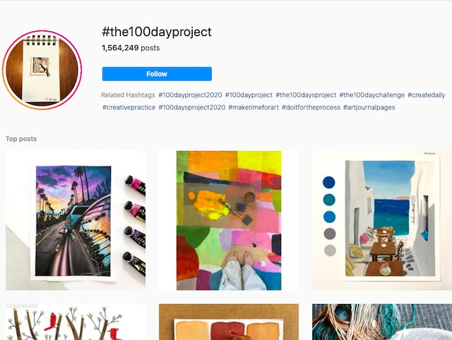 # the100dayproject