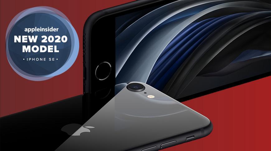 Apple  iPhone SE en negro