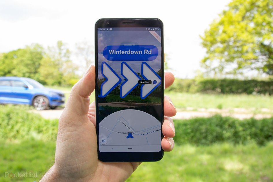 AR Navigation Google Maps Live View released for more devices 1