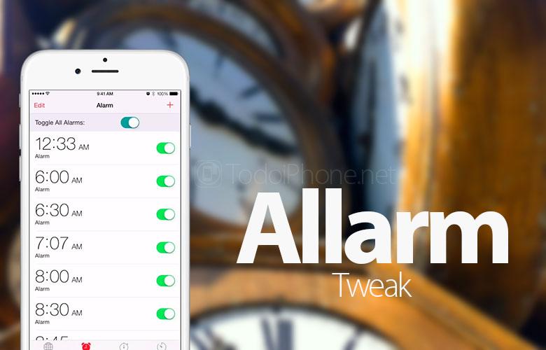 Báo thức, cài đặt để bật / tắt đồng thời nhiều báo thức trên iPhone 2