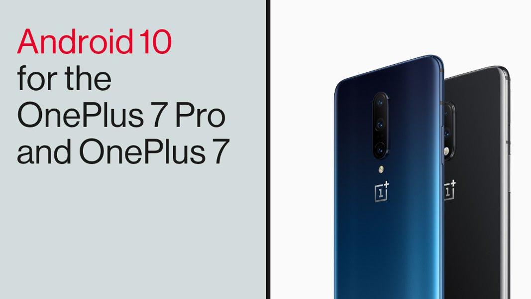 Android 10 tulee OnePlusiin 7 ja OnePlus 7 ammattilainen