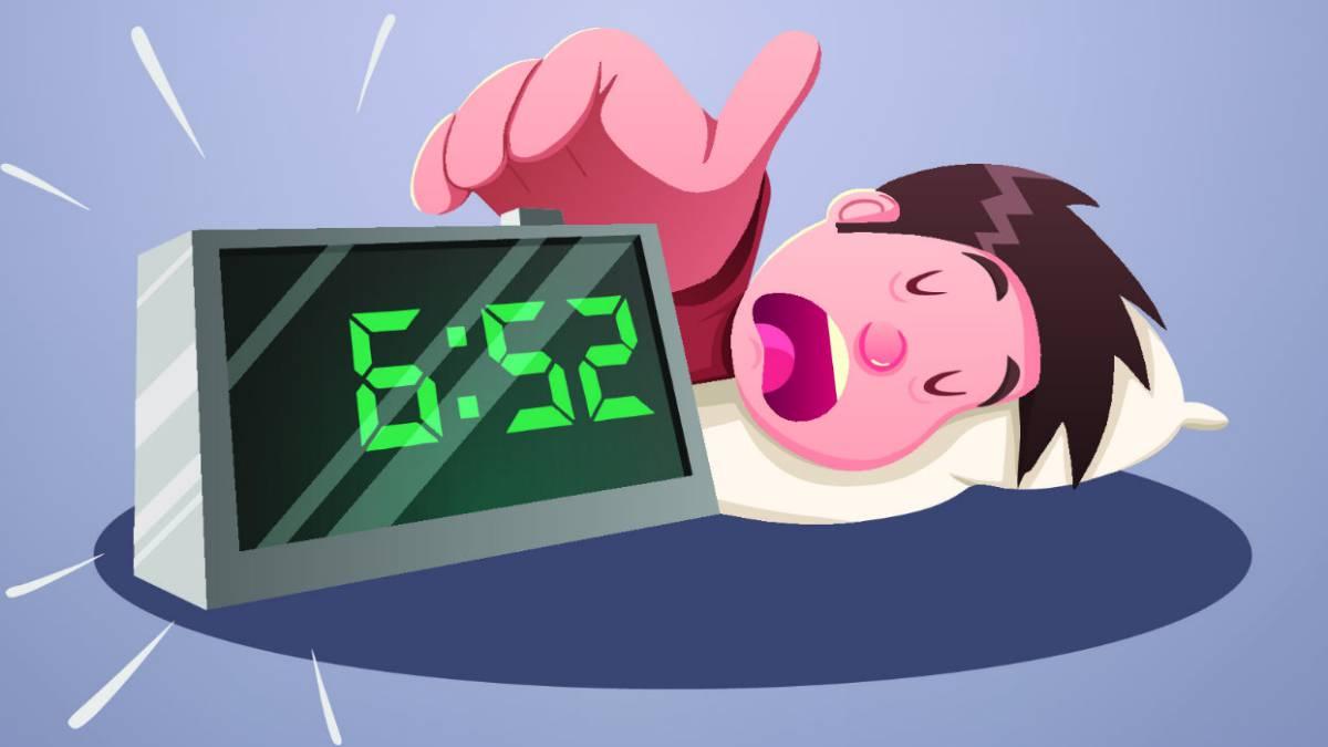 Sovellus, jonka avulla puhelimesta tulee henkilökohtainen herätyskello lomien jälkeen
