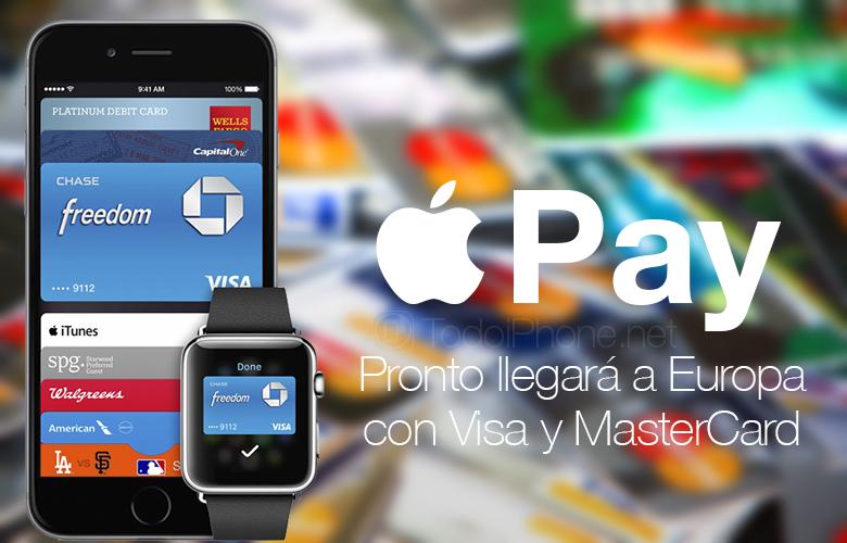 Apple Pay Ini akan segera tersedia di Eropa dengan Visa dan MasterCard 1