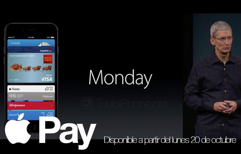 Apple Pay akan tersedia mulai hari Senin 1