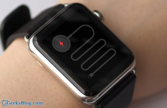 Apple Watch  No cobrar
