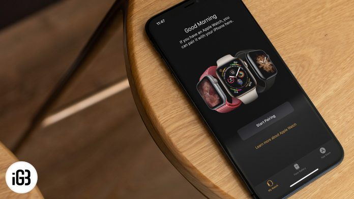 Apple Watch  No se empareja con iOS 13