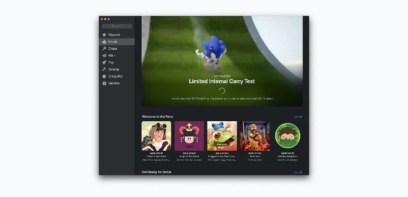 Apple käynnistä alkuperäinen käyttöohjelma Apple arkadi