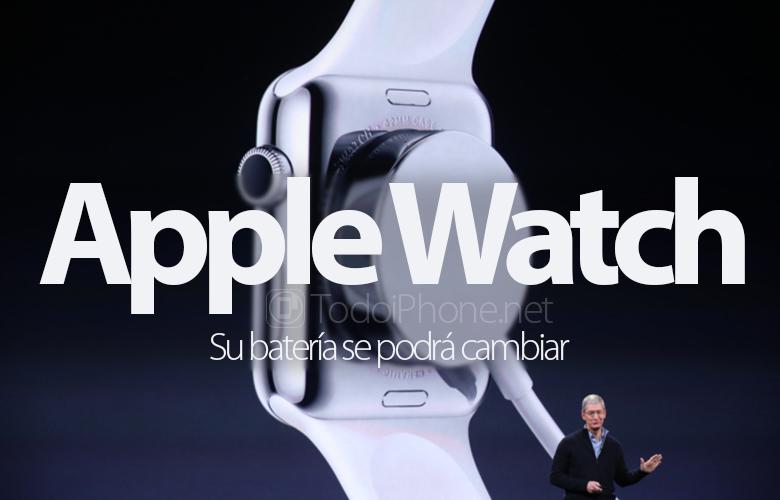 Baterai Apple Watch dapat diganti 1