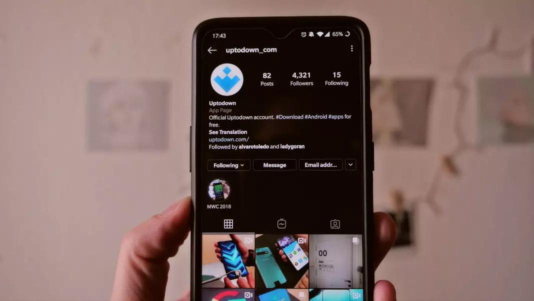 Cara mengaktifkan InstagramMode gelap tanpa Android 10