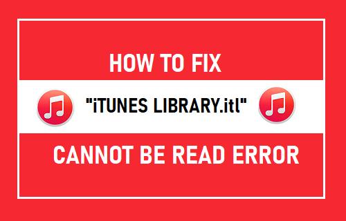 """Cómo arreglar """"iTunes Library.itl"""" No se pueden leer errores en Mac y Windows"""
