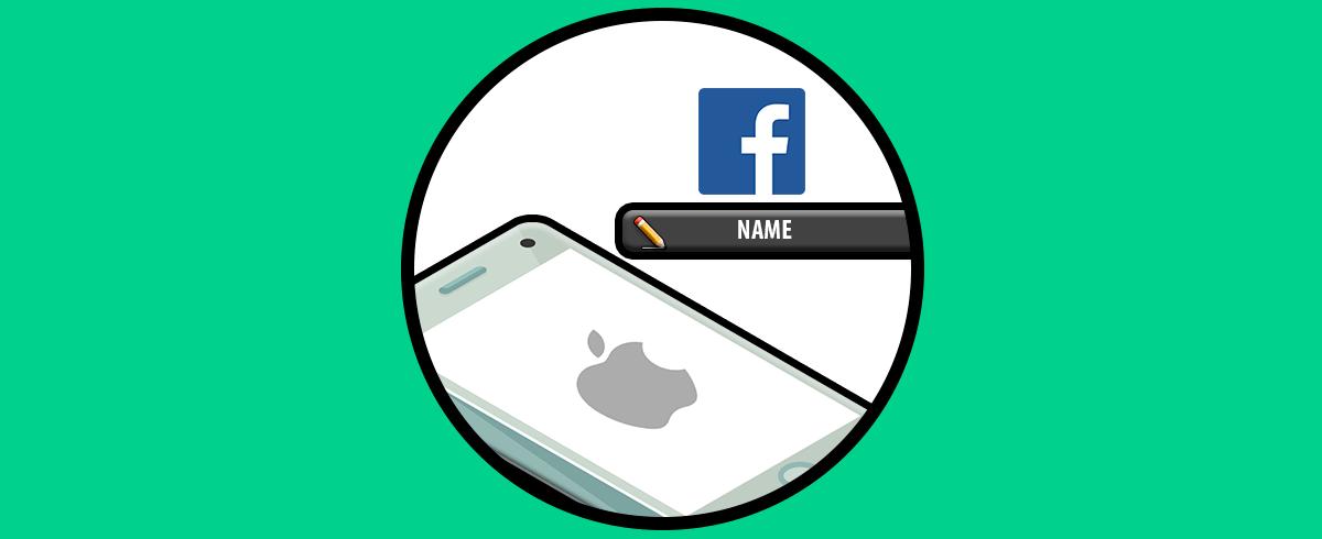 Cara mengganti nama di Facebook iPhone