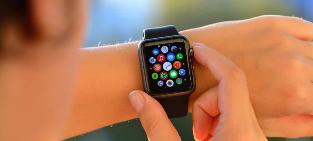 Cách kiểm tra lịch của bạn từ Apple Watch 1