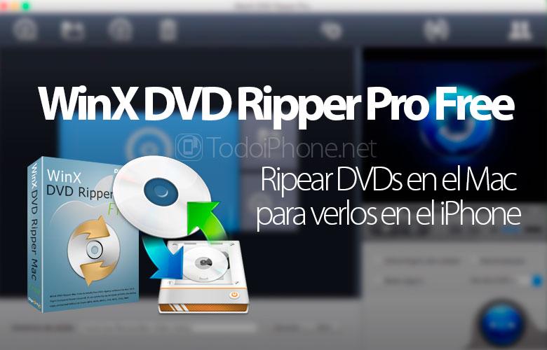 Cara menyalin DVD di Mac untuk menontonnya di iPhone dengan WinX DVD Ripper Mac Free 1