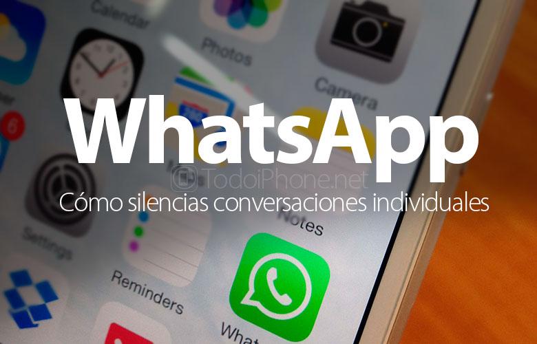 Cara menonaktifkan percakapan individual di WhatsApp 1