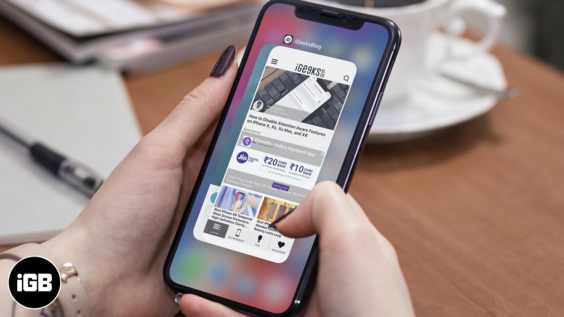 Cómo forzar el cierre de aplicaciones en iPhone y iPad