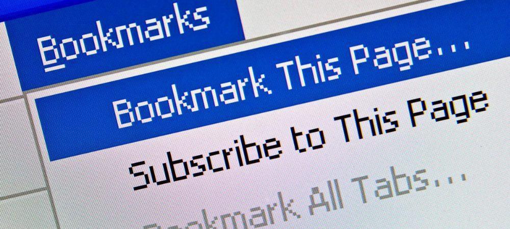 Cara Bookmark Semua Tab Sekaligus di Peramban Desktop Anda