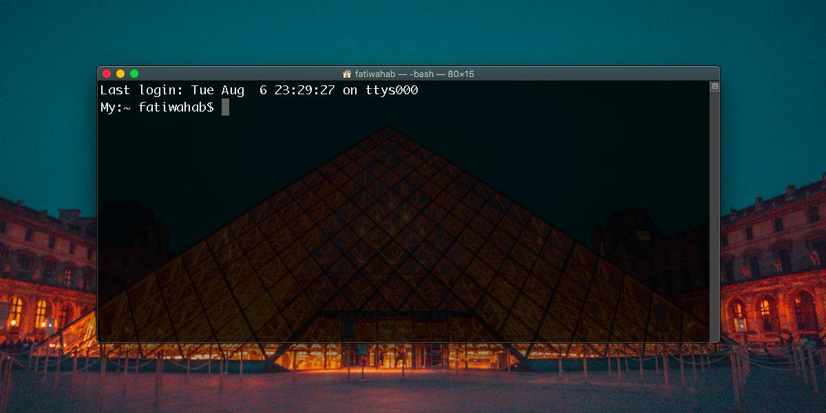 Cara menyembunyikan shell shell interaktif default sekarang adalah pesan zsh 'di Terminal pada macOS 1