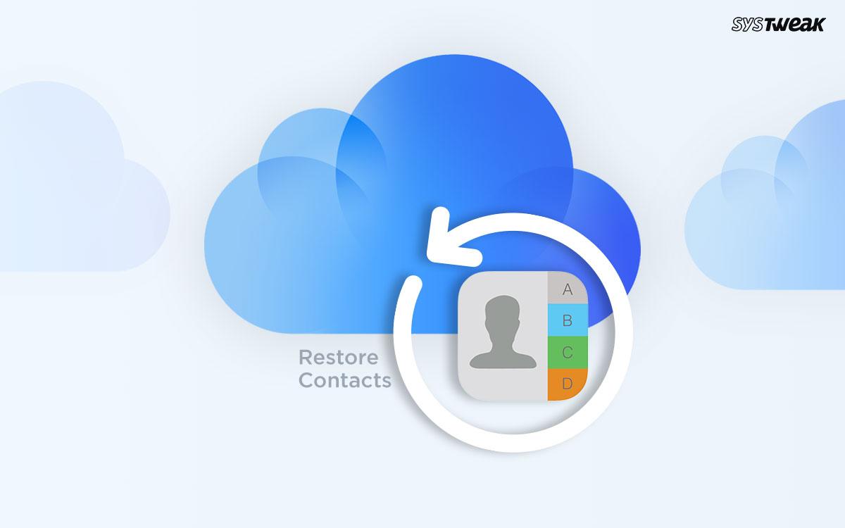 Cara Mengembalikan Kontak Dari Cadangan iCloud