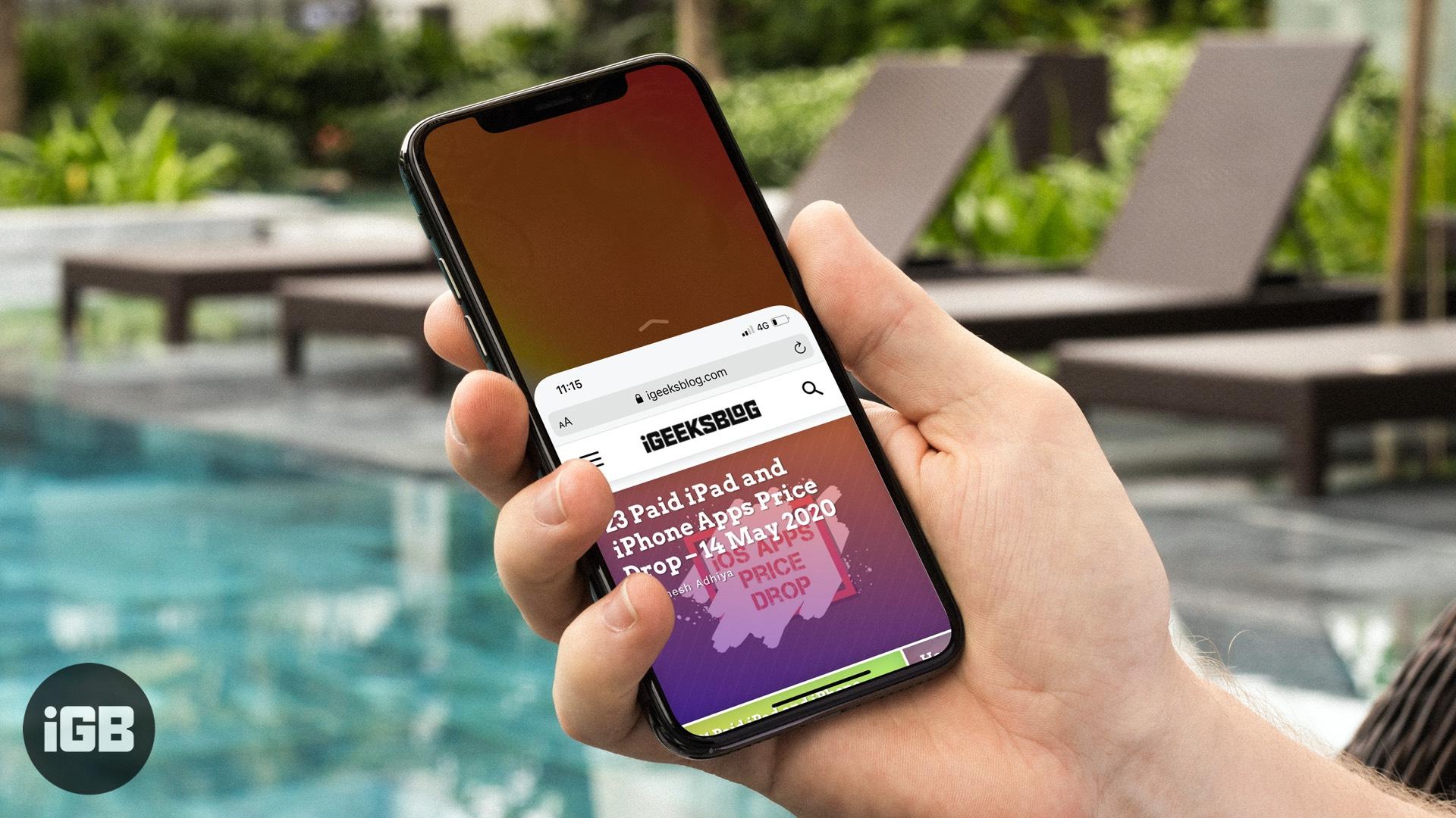 Cómo usar la accesibilidad en iPhone