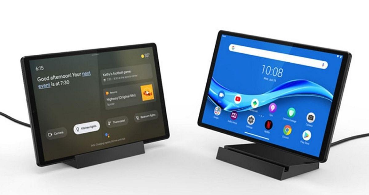 CES 2020: Lenovo Memperkenalkan Tablet Smart Tab $ 190 M10 FHD Plus 2nd Gen Dengan Google Assistant, Juga Layar Cerdas 1