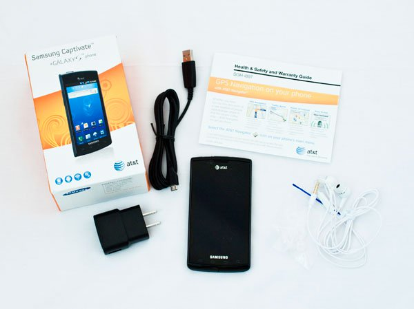 Ulasan Samsung Captivate Android Smartphone 4