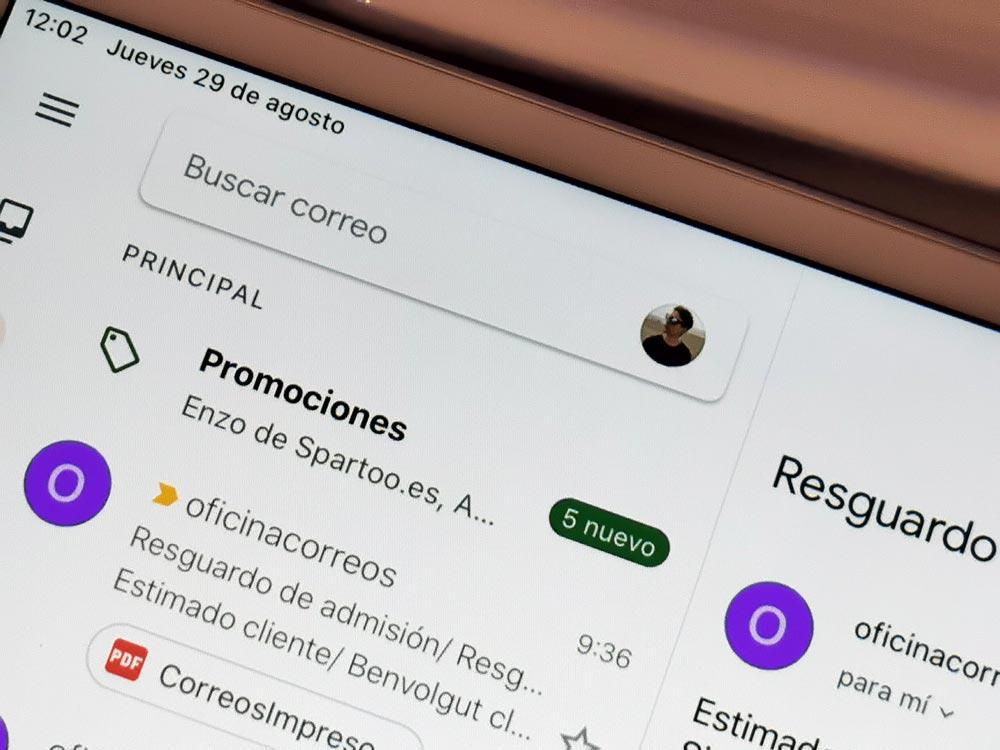 Cara cepat mengubah akun di Gmail untuk Android