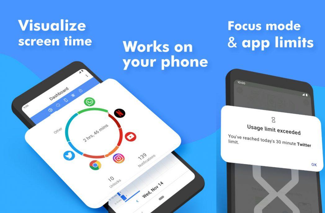 Cara memeriksa waktu layar di Android