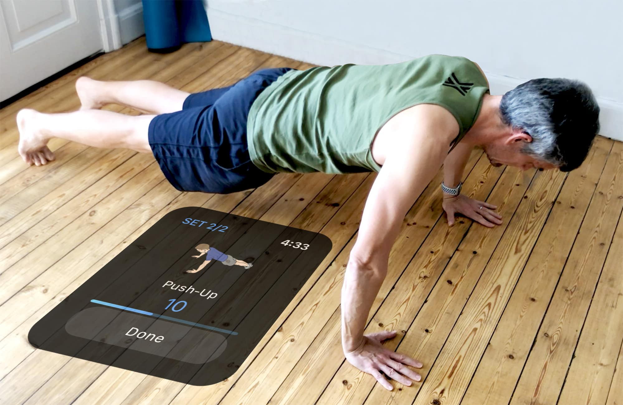Cómo perfeccionar tus flexiones con Apple Watch y iPhone