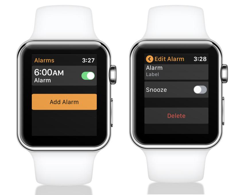Eliminar alarma activada Apple Watch
