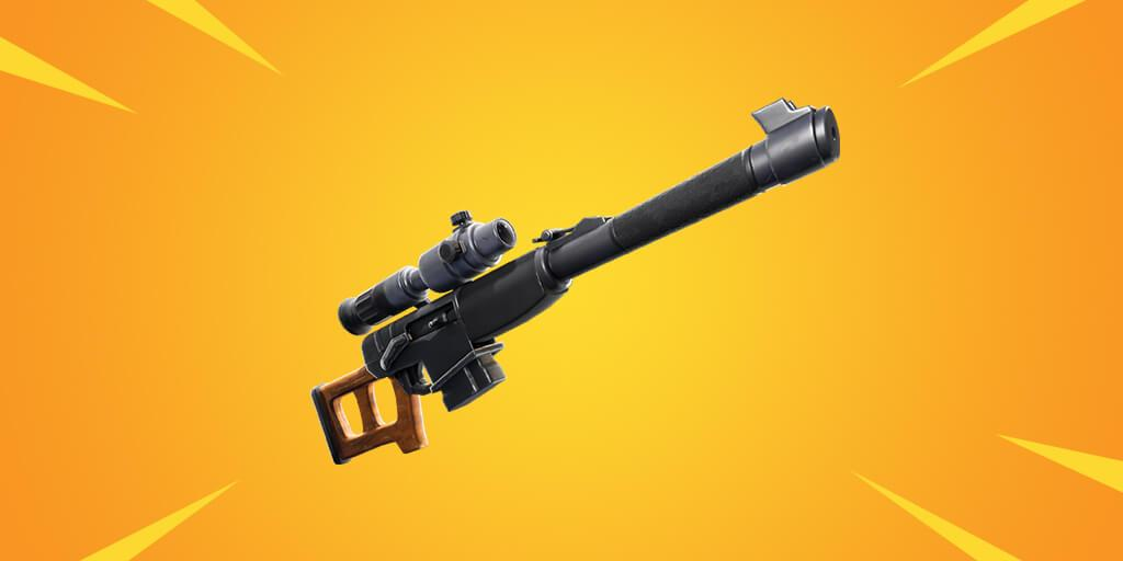 Edellinen Auto Leak Sniper -kivääri tulee huomenna Fortnite Battle royale