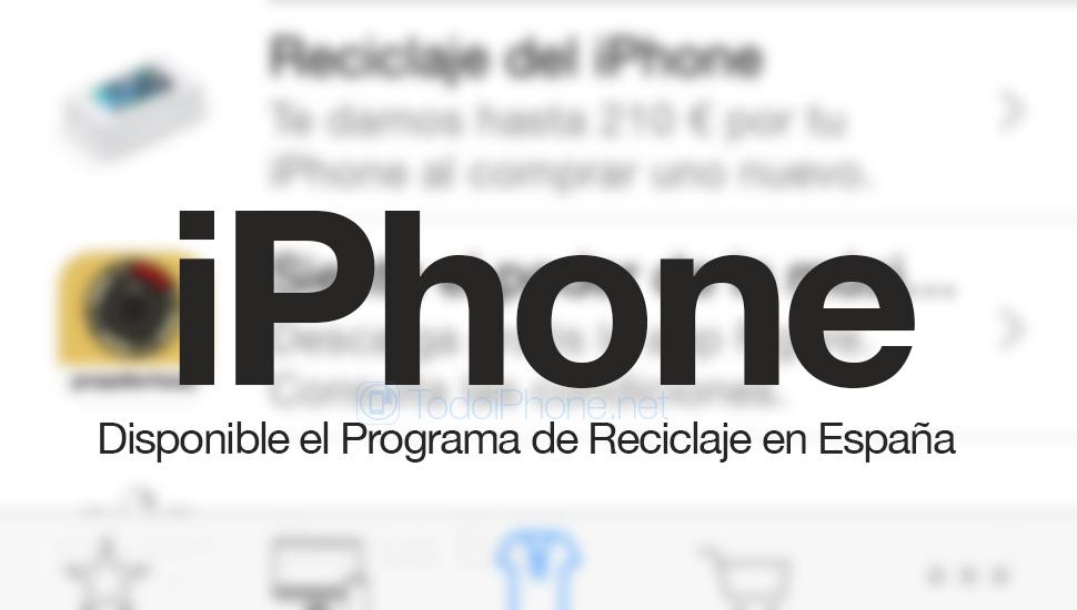 IPhonen kierrätysohjelma osuu myymälään Apple…