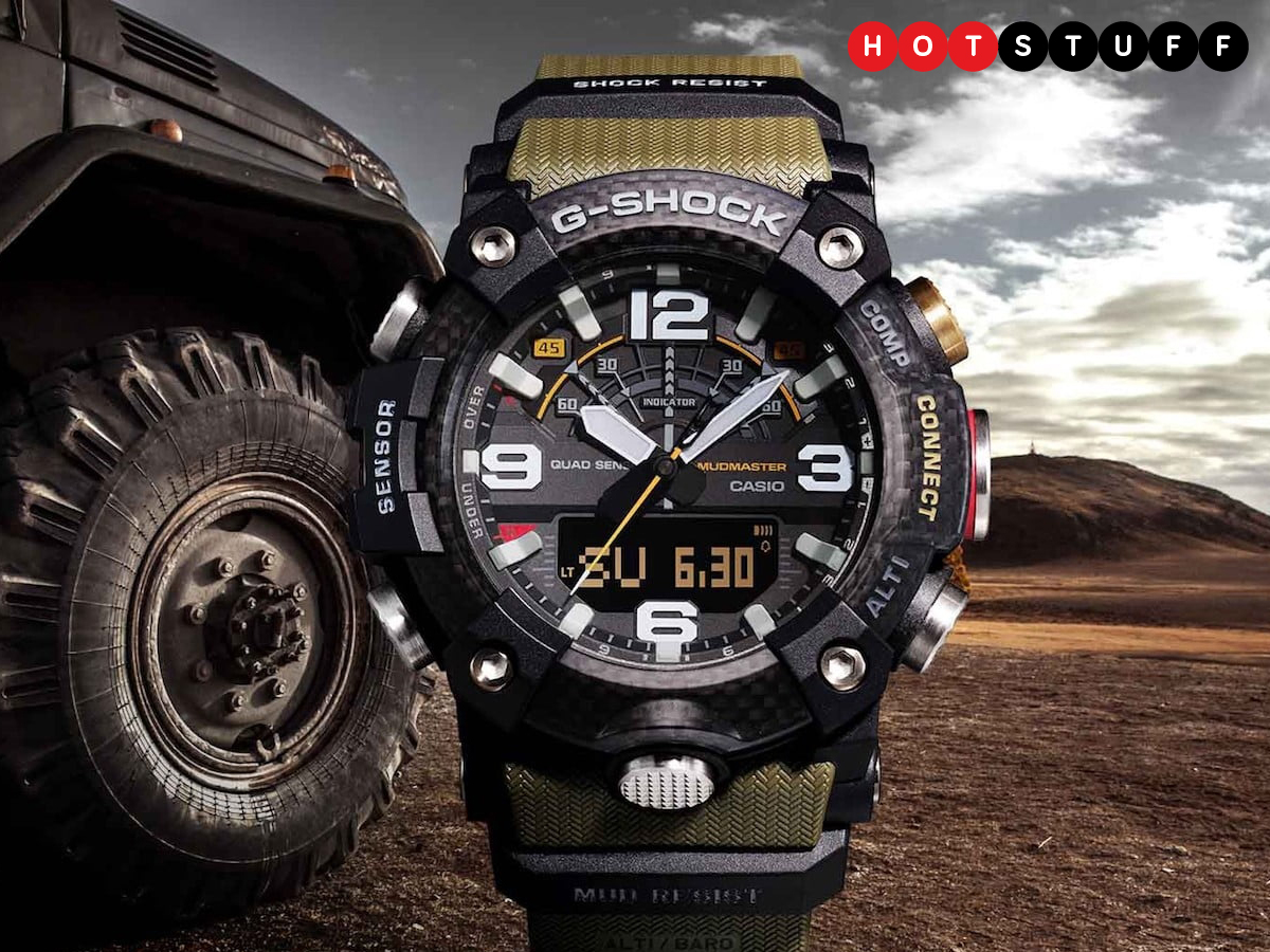Smartwatch G-Shock Casio yang tahan lumpur tidak masuk akal 1