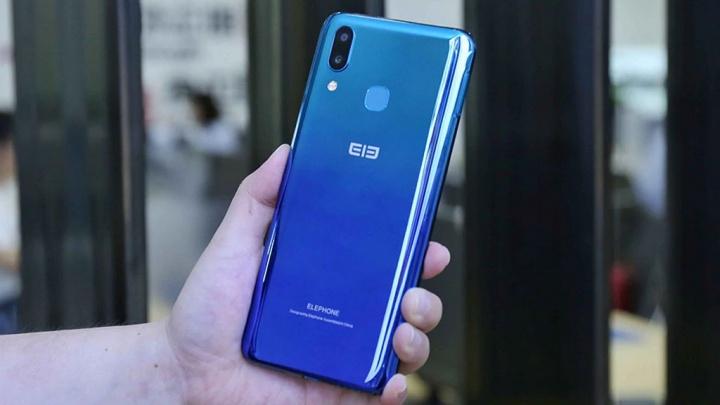 Elephone A6 Max mukana 4 + 64 GB, NFC ja iso näyttö …