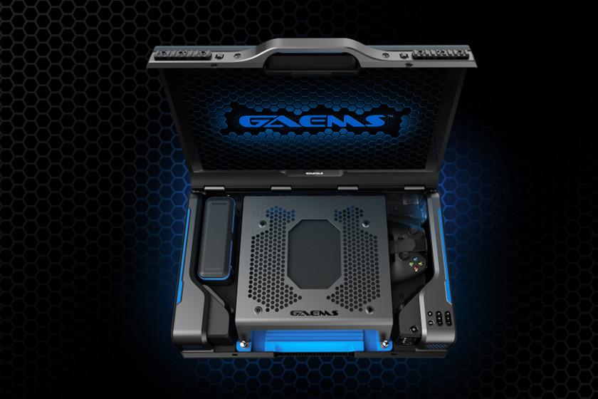 Koper ini tidak hanya memungkinkan Anda untuk membawa konsol Anda ke mana saja, Anda juga dapat bermain tanpa membawanya keluar dari sana